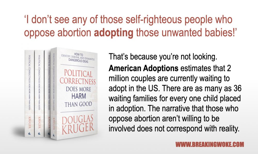 Pro-Lifers don't adopt?